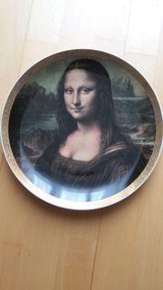 Wandteller Mona Lisa Manufaktur Königl