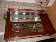 2 x Glasschrank