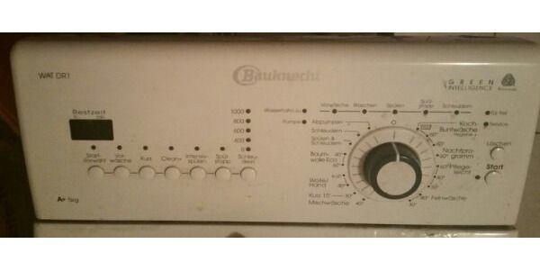 Bauknecht wat dr toplader waschmaschine in heppenheim