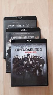 The Expendables 1-3 BluRay