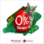 Oster-Finanzierungs-Aktion Null Zinsen null Kosten