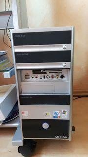 Medion PC mit Monitor und