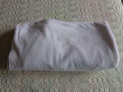 1 Frottee Stretch Spannbettlaken weiß