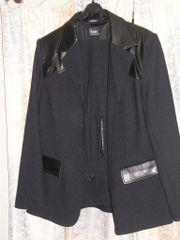 schwarzer Hosen Anzug Gr 40