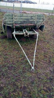 Ackerrolle Traktoranhänger ungebremst