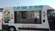 Gelatino Eisbus für das Jahr