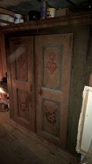 bauernschrank antik sammlungen seltenes g nstig kaufen. Black Bedroom Furniture Sets. Home Design Ideas
