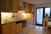 Moderne Einbauküche, Massiv-
