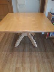 Tisch 120-120cm ahornplatte