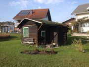 Holzstadel, Hütte,