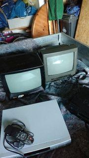 DVd vhs 2 kleine Fernsher