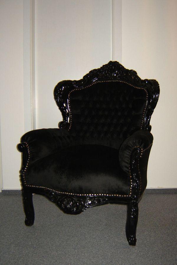 thronsessel stuhl barock sessel armlehnstuhl. Black Bedroom Furniture Sets. Home Design Ideas