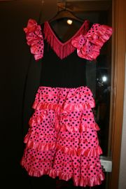 Flamenco-Kleid gr