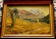 Gemälde Ölgemälde Hünerkopf (