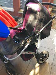 Kombi-Kinderwagen mit Autoschale