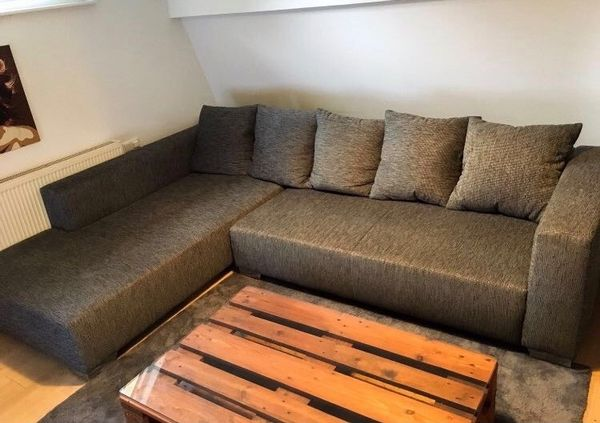 Ecksofa Mit Webstoff » Polster, Sessel, Couch