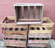 Weinkisten Regal Holz