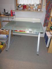 Schreibtisch Glastisch PC-Tisch
