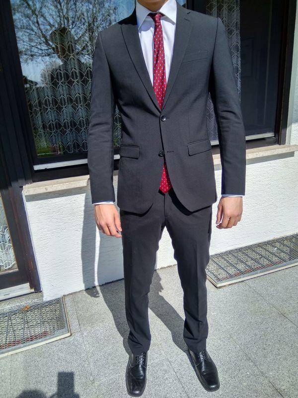 schwarzen anzug kaufen