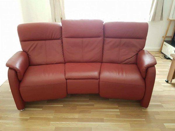 3 Sitzer Sofa Mit Relaxfunktion Und Getränkehalterung In Stuttgart