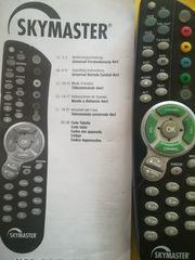 Universalfernbedienung- Skymaster 4 in 1
