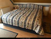 Verkaufe komplettes Bett inkl 4