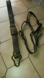 original Teile eines Pferdegeschirr