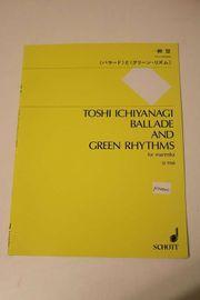 Ballade Green Rhythms German Paperback