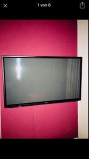 LG TV Mit Wandhalterung und