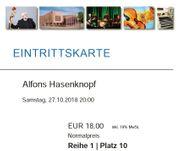 2 Eintrittskarten Alfons Hasenknopf 27