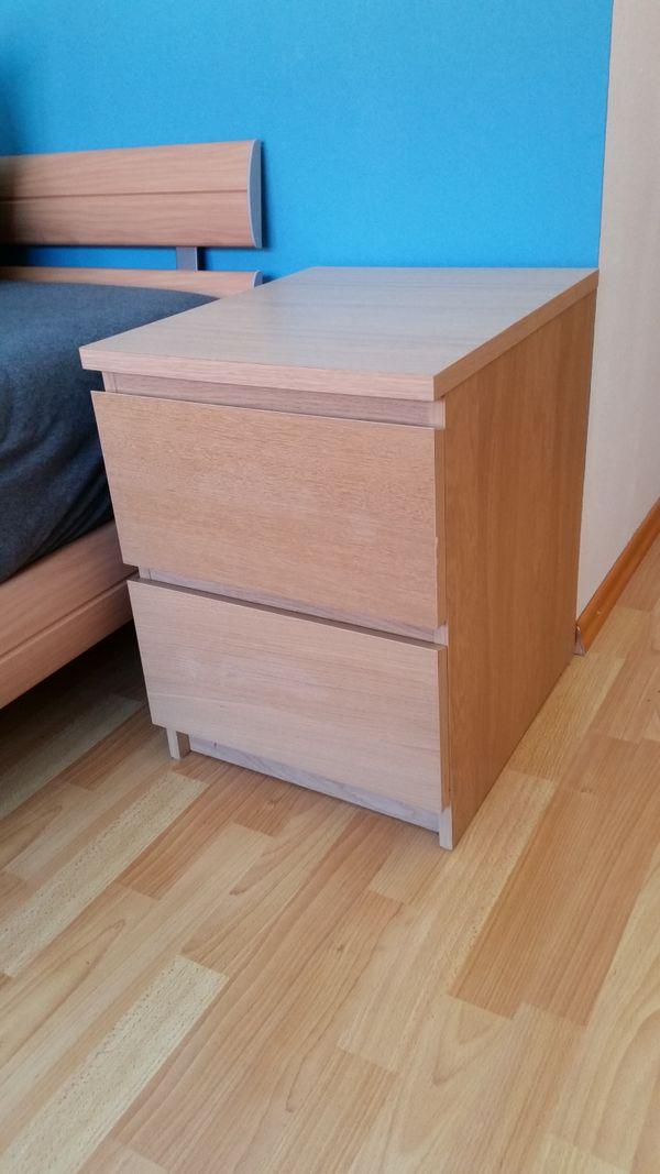 Malm Kommode Eichenfurnier Weiß Lasiet In Karlsruhe Ikea Möbel