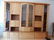 Wohnzimmerschrank, Massivholz