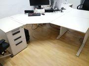 Zweier Schreibtischkombination von Werndl