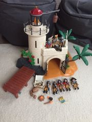 Playmobil Soldatenbastion mit Leuchtturm und