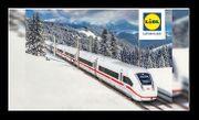 4 Einzelfahrten 2 LIDL-Bahnticket deutschlandweit