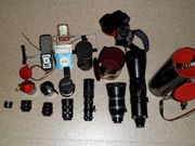 Fotoausrüstung aus Nachlass