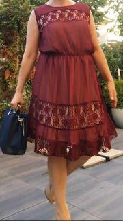 Elegantes Romantisches Kleid Gr 46-48