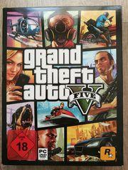 GTA 5 Spiel PC-DVD mit
