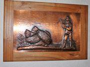 Bild Kupferbild Ernte gedrückt