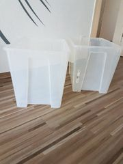 IKEA Boxen 2 x transparent