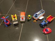 Playmobil-Fahrzeuge 123