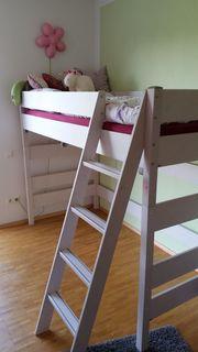 paidi pinetta hochbett wei in oberhausen kinder jugendzimmer kaufen und verkaufen ber. Black Bedroom Furniture Sets. Home Design Ideas