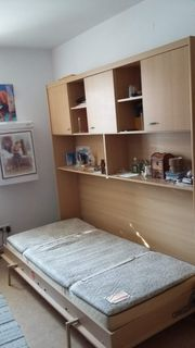 Gästezimmer Jugendzimmer Kinderzimmer Klappbett Schrankbett