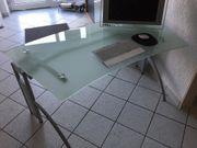 RÖHR Schreibtisch Bürotisch Freiform halbrund