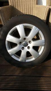 4 Winterreifen auf original VW Alufelgen, gebraucht gebraucht kaufen  Hattingen Niederwenigern