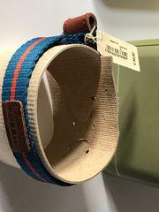 Tolles FOSSIL Armband Textil Leder