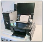 PC Kompletsystem + Drucker,