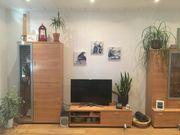 Wohnzimmerwand Schrankwand