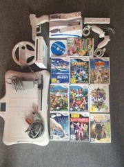 Wii Konsole mit 11 verschiedenen