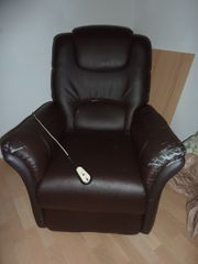 TV Sessel elektr Stehhilfe Liegeposition